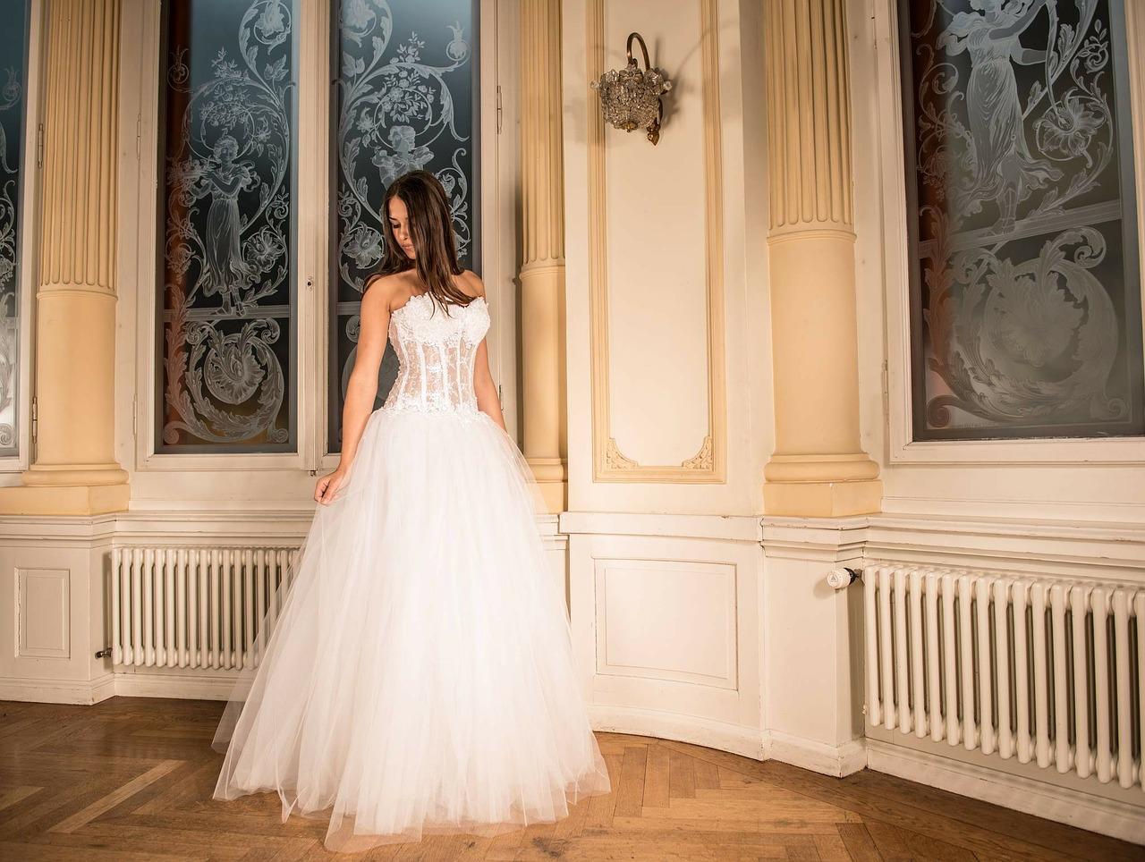 wedding girl photo
